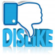 Dislike Sign — Stock Photo