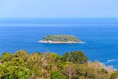 Koh Pu island from Karon View Point Phuket — Stock Photo