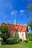 Four wings Thai Temple Wat Chalong, Phuket — Stock Photo
