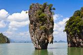 James Bond island Ko Tapu in Thailand — Stock Photo