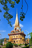 Buddhist temple Wat Chalong — Stock Photo