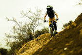 Bicicleta Enduro — Stock Photo