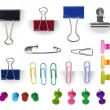 Постер, плакат: Collection of paper clip