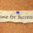 Time for success sign — Stock Photo #10495569