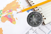 Dünya harita iş geçmişi — Stok fotoğraf