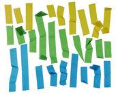 Полос клейкой ленты — Стоковое фото