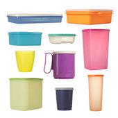 Envase de plástico — Foto de Stock
