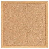 Square cork board — Stock Photo