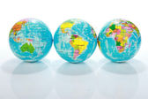 World Globe Maps — Stock Photo
