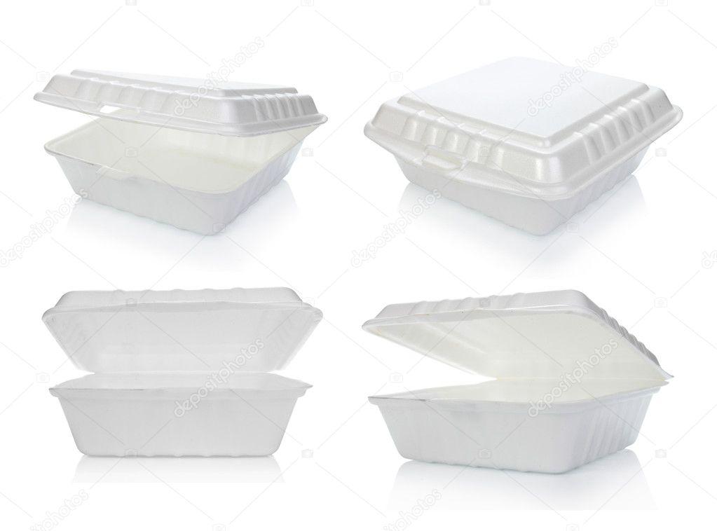 styropor food containers stockfoto odua 10494457. Black Bedroom Furniture Sets. Home Design Ideas