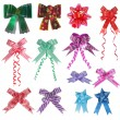 Set of Colorful Bows And Ribbons — Stock Photo #10563772