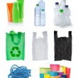Set of object made of plastic — Stock Photo #10563817