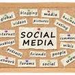 Social with networking concept — Stock Photo #10565923