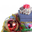 Stock Photo: Gift box christmas