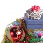 Gift box christmas — Stock Photo