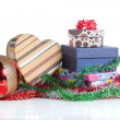 Gift box christmas — Stock Photo