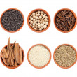 Stock Photo: Mixture spices