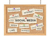 Social with networking concept — Stock Photo