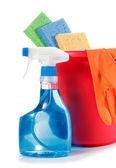 Reinigung aufsprühen — Stockfoto
