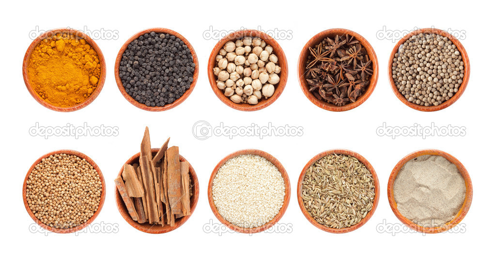 Mixture spices — Stock Photo #10567390