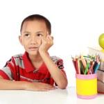 Little boy thinking — Stock Photo #10637032
