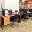 Modern office interior design — Stockfoto