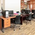 Modern office interior design — Stock Photo #10637634
