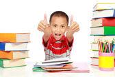 Happy studying — Stock Photo