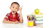 Smart little boy — Stock Photo