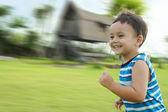 çalışan çocuk — Stok fotoğraf