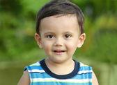 Portrait of cute little boy — Stock Photo