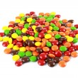 A pile of colourfull candies - Stock Photo