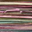 File Stack file folder close up — Stock Photo