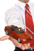 Car loan offer — Stock Photo