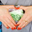 Love of money — Stock Photo #10717037