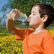 Boy drinking water — Stock Photo #10717380
