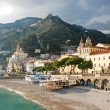 Amalfi coast view — Stock Photo
