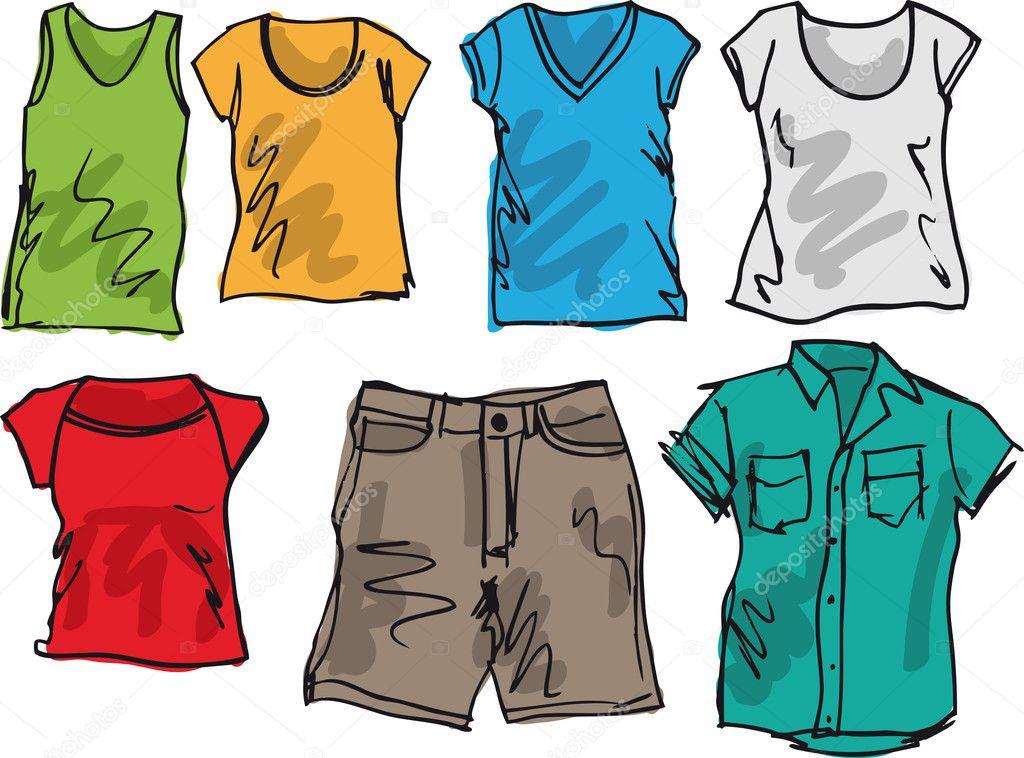 эскизы одежды для подростков: