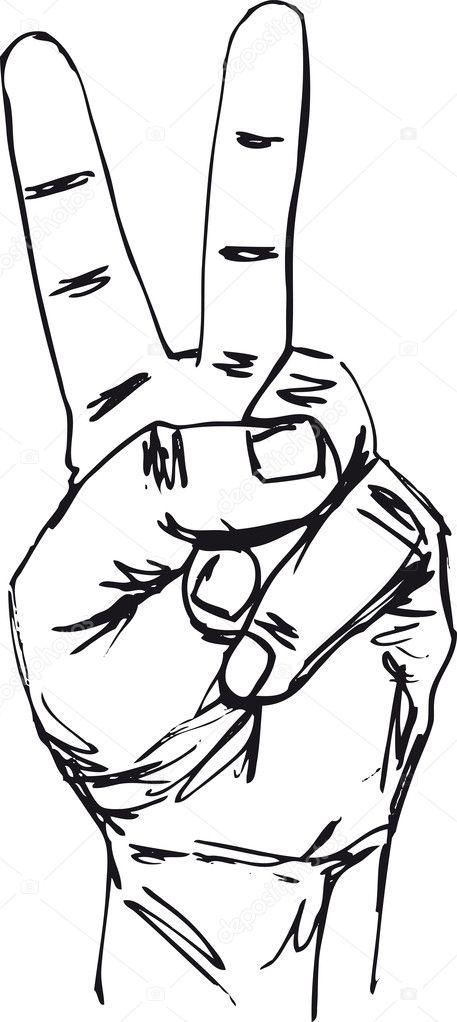 Изменить рисунок пальца