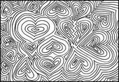 Abstact dibujada a mano. ilustración vectorial — Vector de stock
