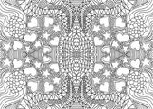 Ručně tažené abstraktní pozadí. vektorové ilustrace — Stock vektor