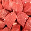 Raw meat background — Stock Photo #10616229