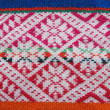 Peruvian hand made woolen fabric - Stock Photo