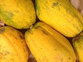 Papaya background — Stock Photo