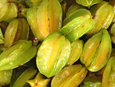 Sfondo di frutta carambola — Foto Stock