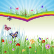 Springtime background - Stock vektor