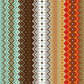 Ethnic pattern background. — Vettoriale Stock
