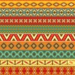 Ethnic strips motifs - Stock Vector