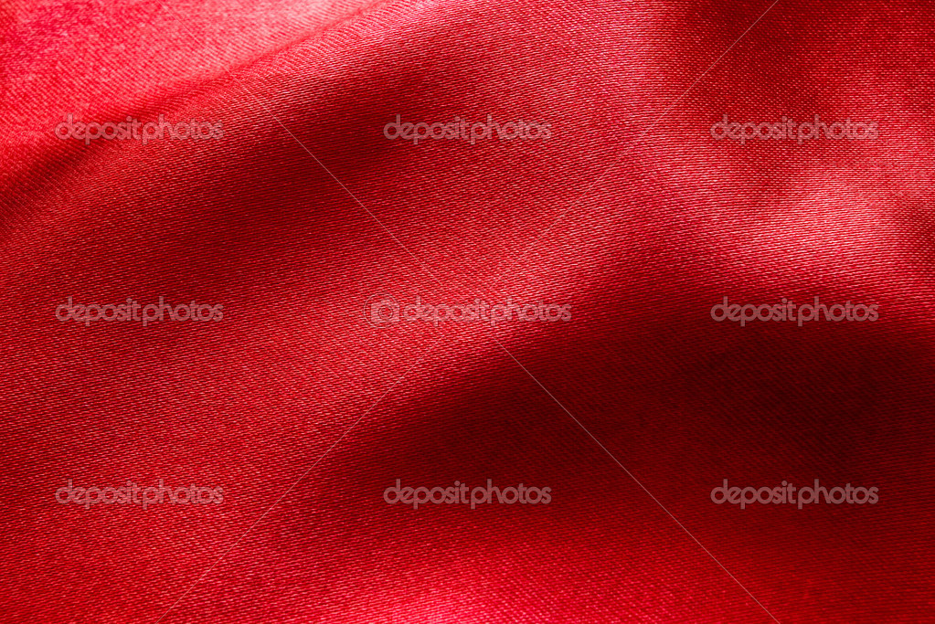 Wavy red fabric for background   #10594161