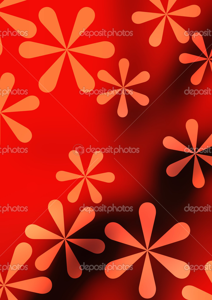 The pattern of a visionary flower — Stock Photo #10521072